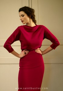 Lauren-garnet-red-dress-editorial
