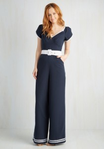 "ModCloth's ""Ship Off the Bold Block"" jumpsuit"