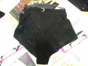 …these fabulous high-waisted panties with a cutout and another little buckle…