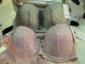 """More Sophia bras, some of several examples I found of lingerie in Pantone's """"colors of the year,"""" serenity and rose quartz (though these were named """"opal"""" and """"lilac"""")."""