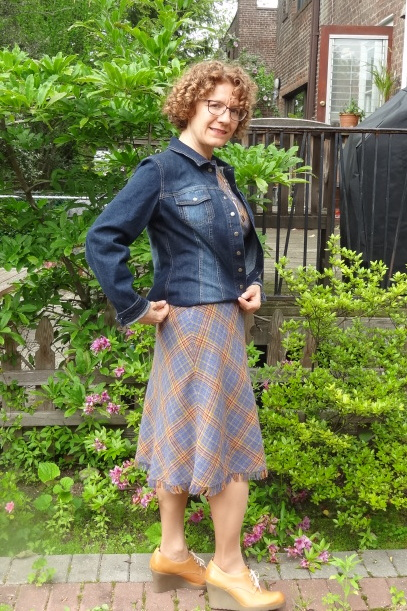 big bust denim jacket dd atelier shorten question 2