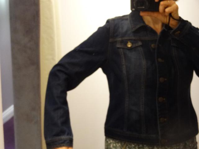 big bust jean jacket pepperberry roomy armhole