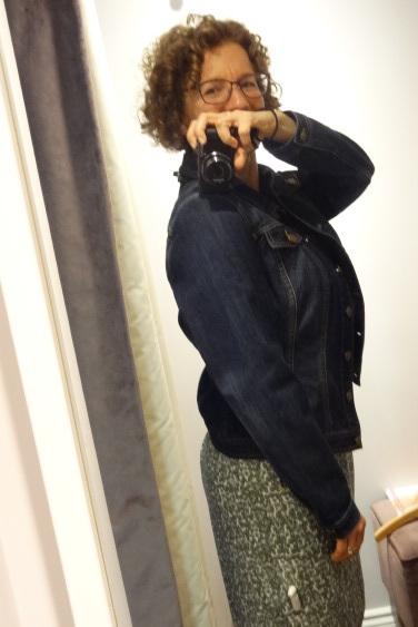 big bust jean jacket pepperberry side