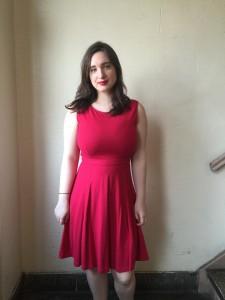 (dress by Ann Taylor Loft)