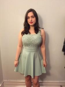 (dress by Kimchi Blue)