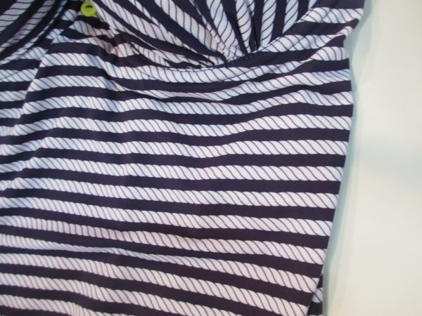 It looks like stripes, but up close you can see it's a rope pattern, for subtle nautical flare.