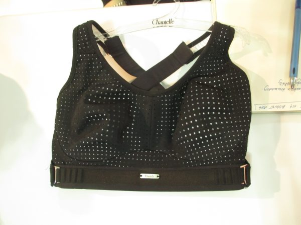 The straps can be worn cross-back or conventional, and each has seven points of adjustment.