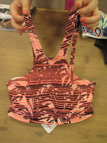 Soul City's cut-away crop top is so on trend! I saw tons of crop top-style bikinis this summer. (Starts at 28, up to FF)
