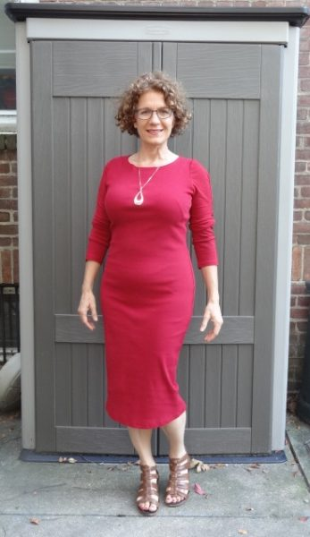 big-bust-red-dress-simple-front-3