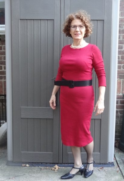 red-dress-black-belt