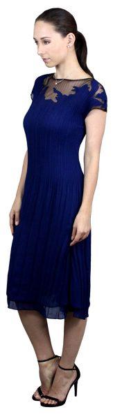 crinkle-pleat-dress