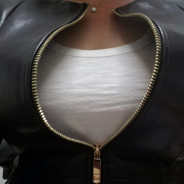 busty-blazer-leather-jacket-sitting-zip