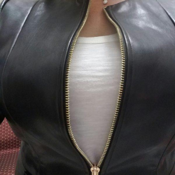 busty-blazer-leather-jacket-standing-zip