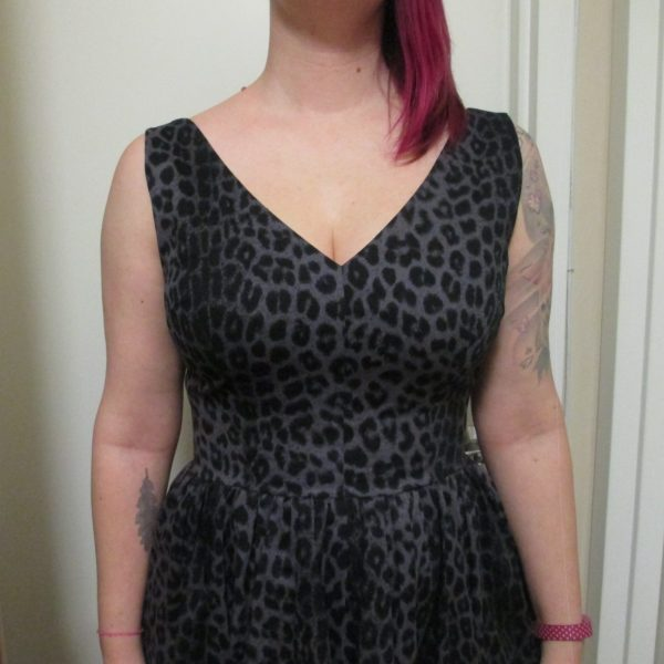 fd883481150c Another leopard print! But this past season cutie is a more subtle grey and  black version. I really love this cut. The V-neckline is very flattering,  ...