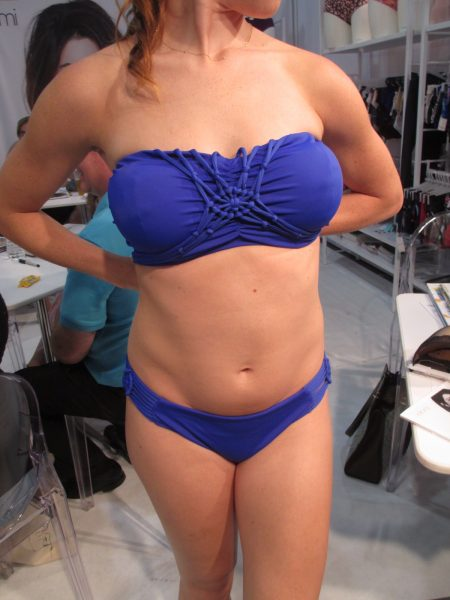 The Macramé bandeau in its second iteration.