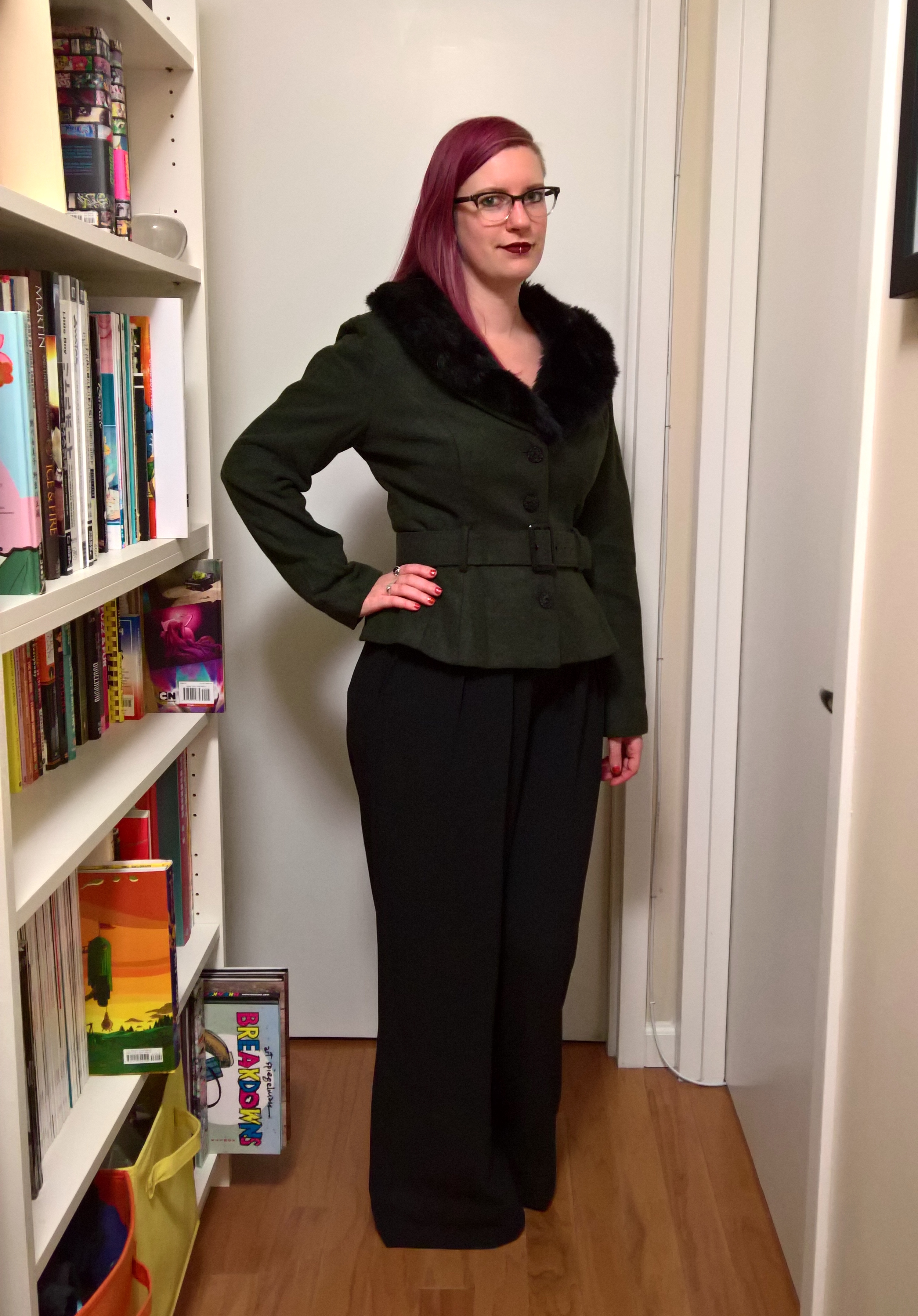 b10da8c7bded Off the Rack ~ Bust-Friendly Coats: The Collectif Molly – hourglassy.com